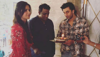 Katrina and Ranbir celebrates the celebration of Anurag Basu's Birthday together