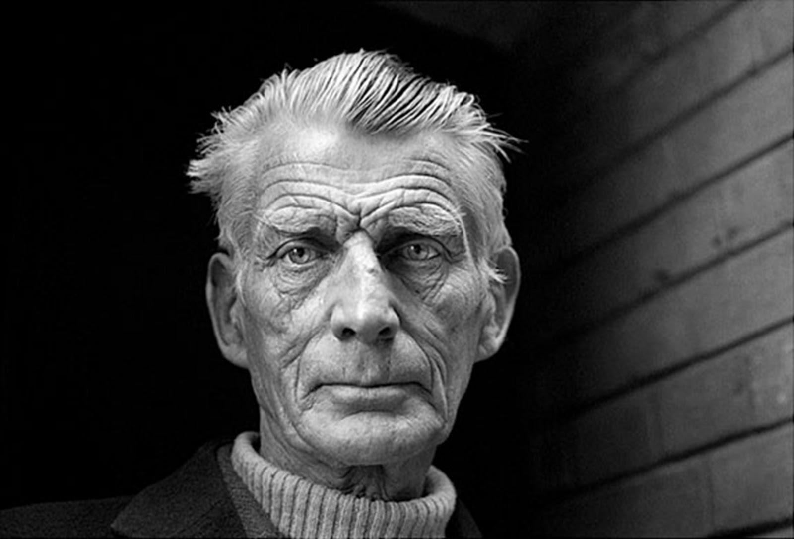 El escritor Samuel Beckett (1906-1989)