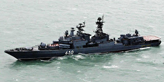 Udaloy Destroyer Class Rusia
