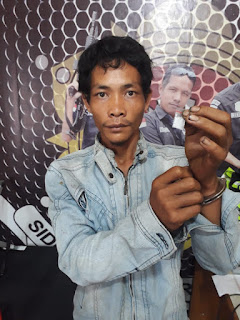 Buruh Nyambi Edarkan Narkoba Diringkus Polisi