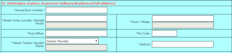 step4 image of how correct voter id card in online