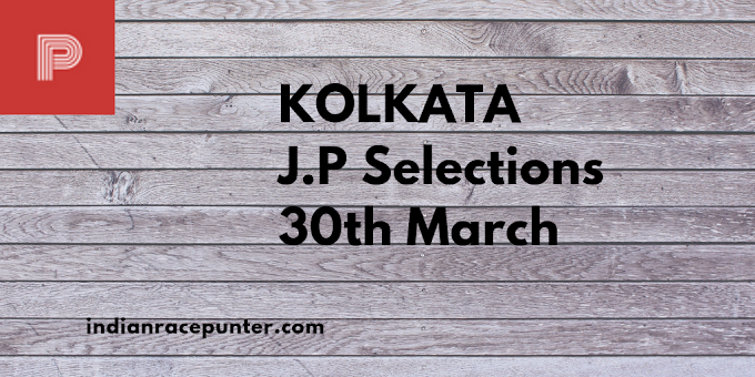 Kolkata Jackpot Selections 30th March