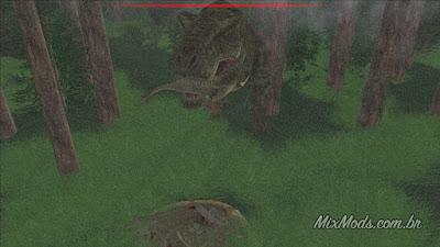 gta sa san andreas mod cretaceous runner game t-rex