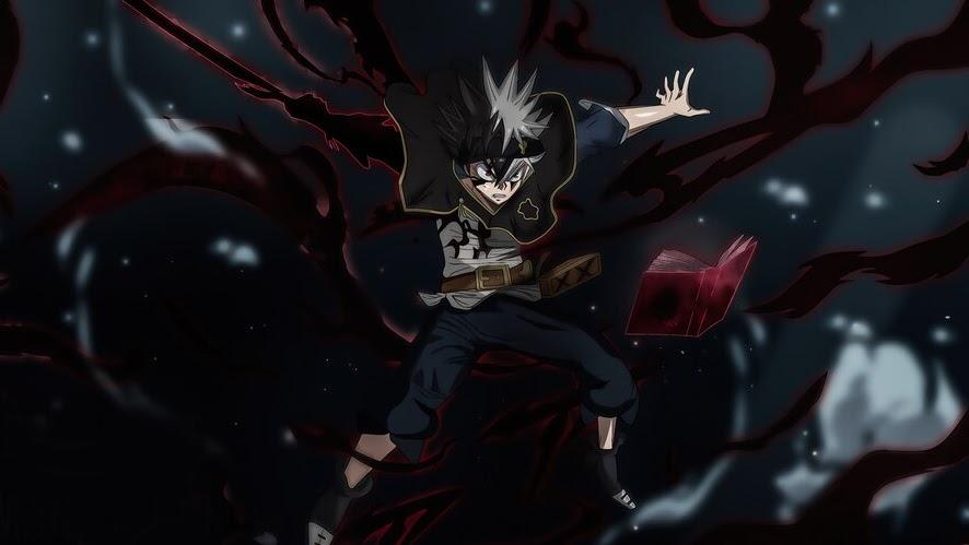 Black Asta, Black Clover, Anime, 4K, #6.823