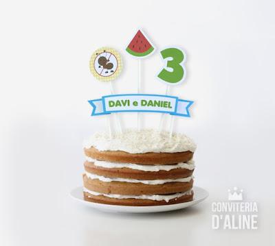 topo bolo festa picnic piquenique
