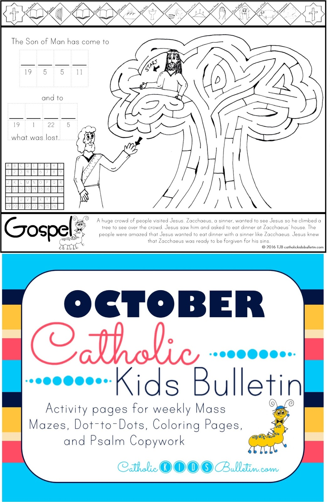 catholic kids october catholic kids bulletin