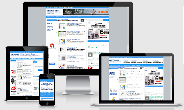 Download Template Blogger Versi  Preman Adsense 2.0 Premium (Free)