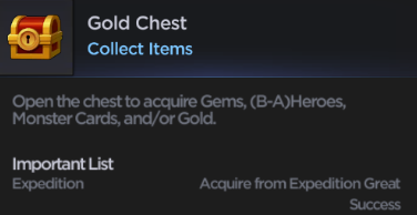 Grand Chase Mobile Global - gold chest