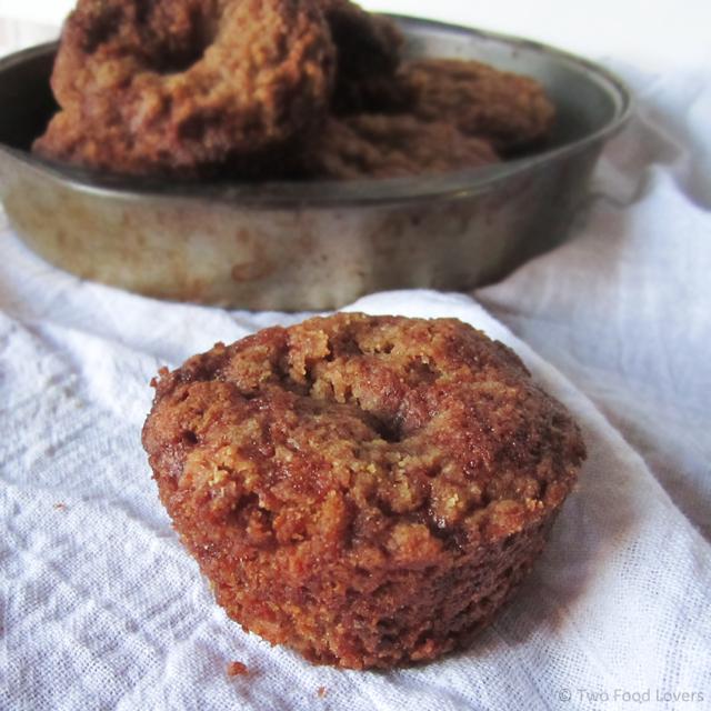 Zucchini Nut & Streusel Muffins