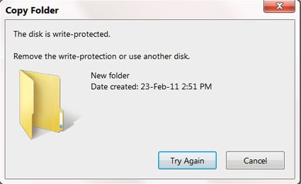 how to open write protected usb flash drive