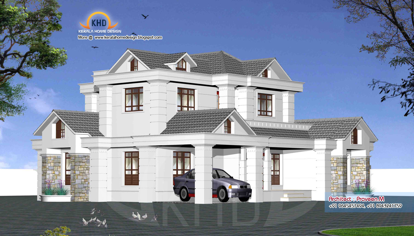 Indian style sweet home 3d designs for Home sweet home designs