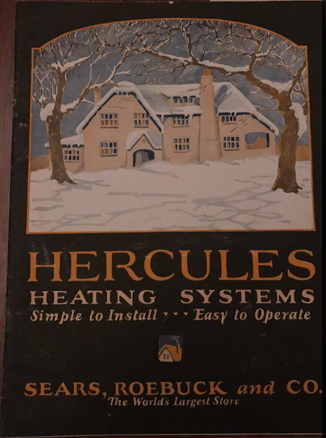 buying a house from Sears--Hercules heating system catalog