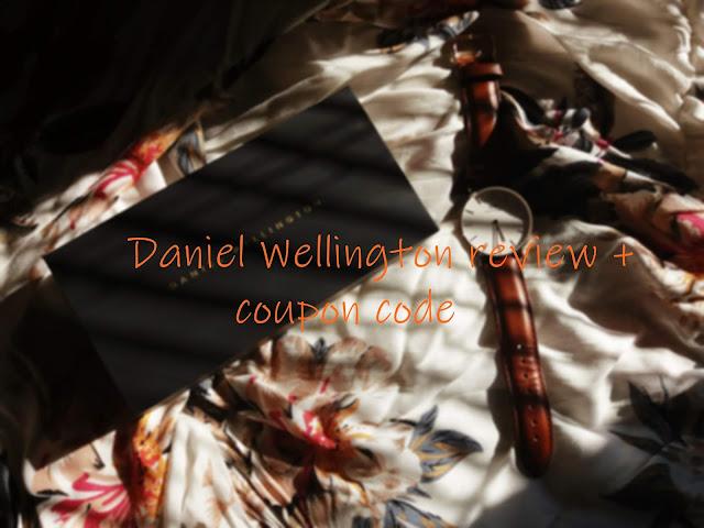 Daniel Wellington review + coupon code