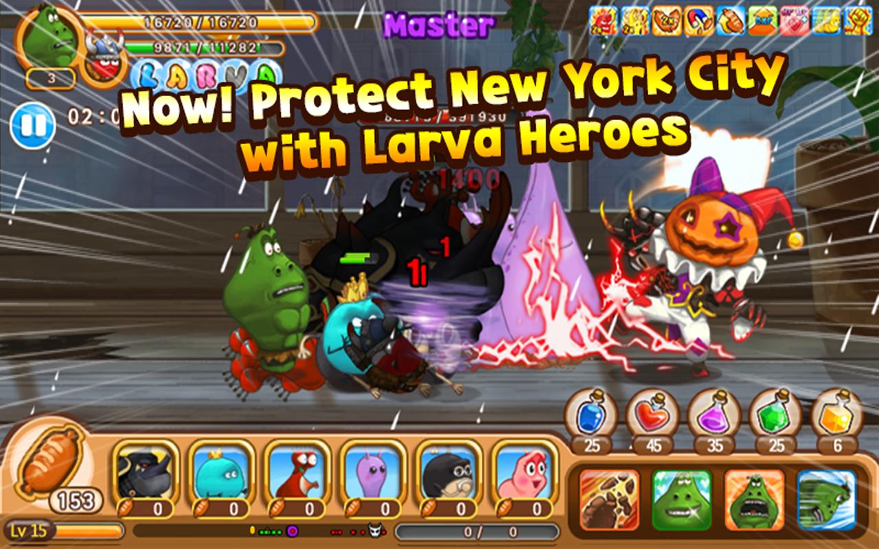 Larva Heroes Lavengers 2017 MOD APK
