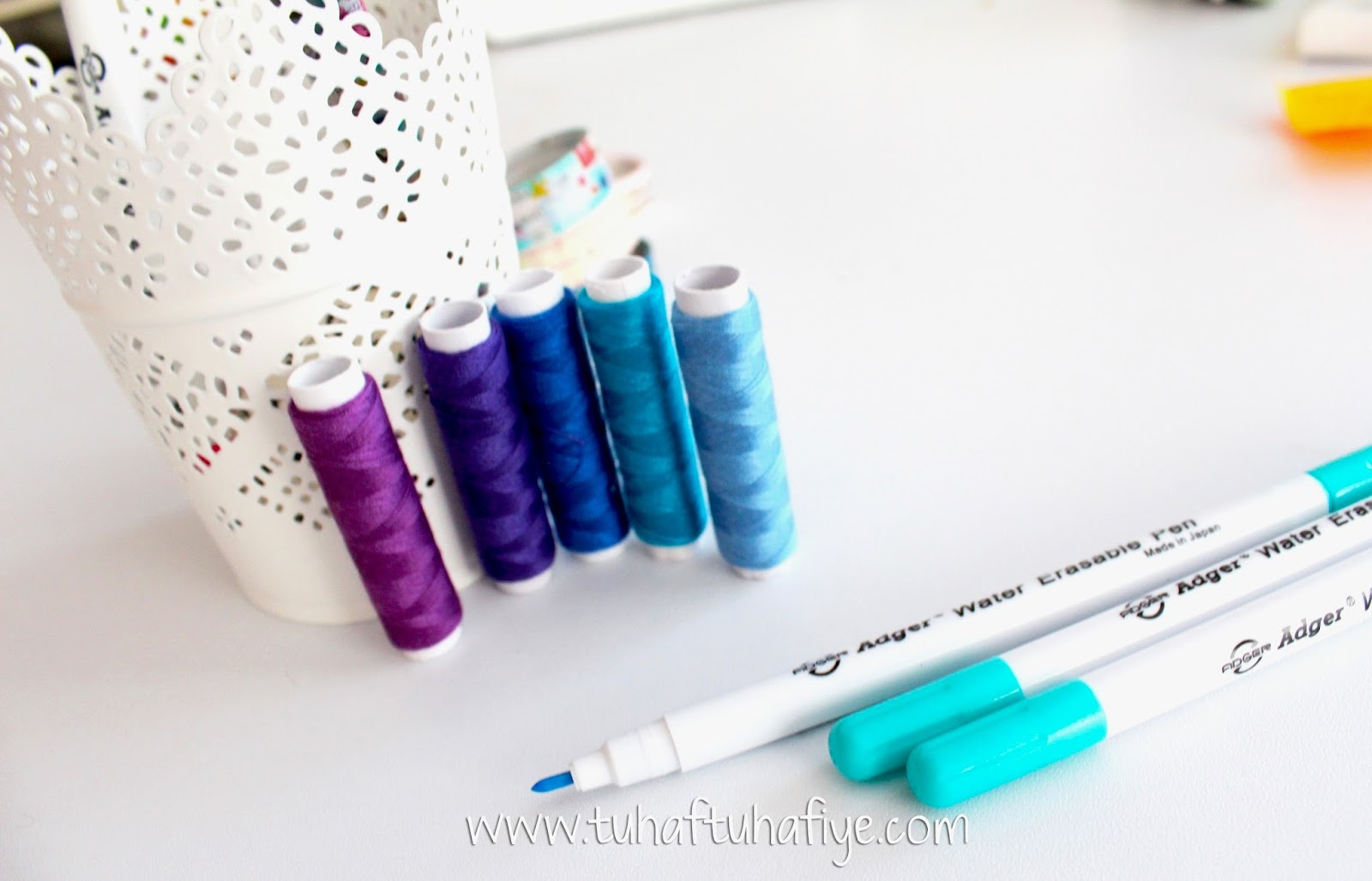 suyla çıkan kalem, dikiş malzemeleri, satış