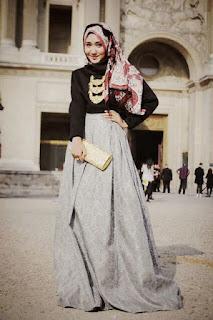 Model Busana Muslim Pesta Mewah