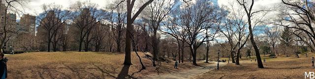 central park primavera new york