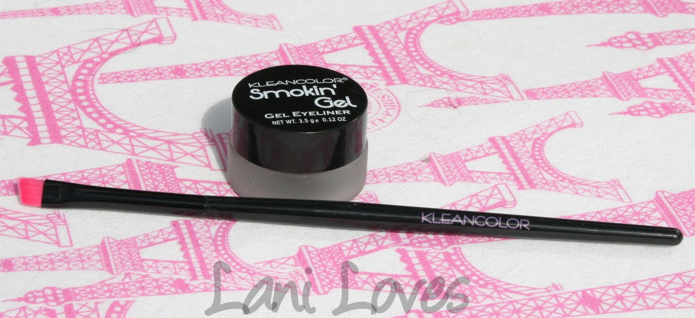 Kleancolor Smokin' Gel Eyeliner - Smoky Black