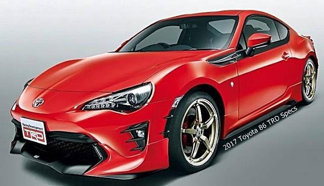 2017 Toyota 86 TRD Specs