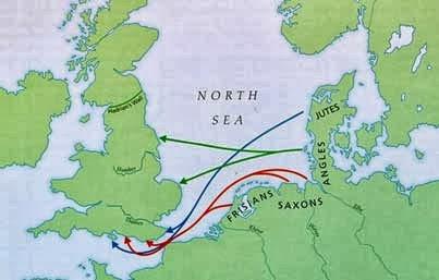Anglo-Saxões, História da Civilização Saxônica