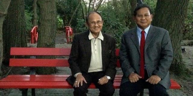 BJ Habibie: Prabowo Saya Pecat!