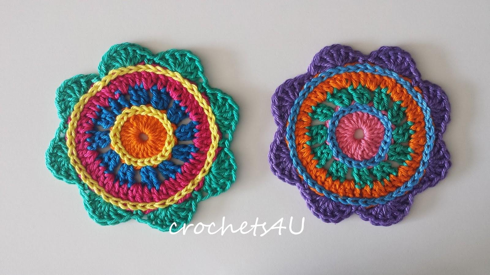 Gratis Haakpatroon Onderzetters Gratis Haakpatronen Crochets4u