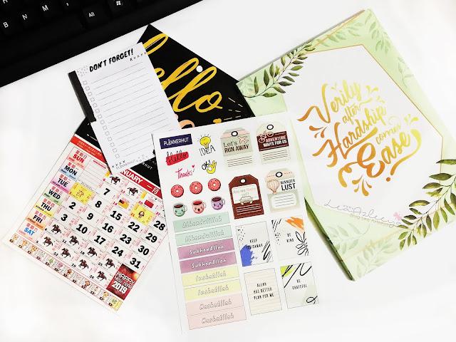 PLANNERHUT | Planner 2019 Hadiah Giveaway Dari Lullabyssz