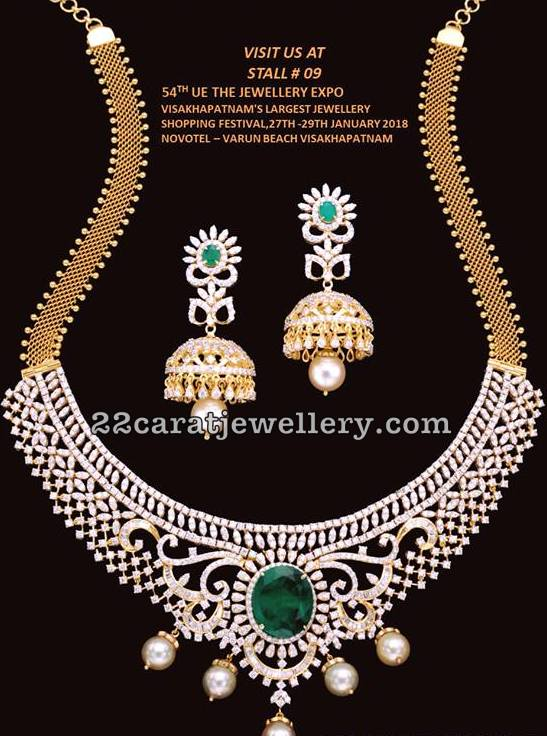 Diamond Set by Balaji Jewellers Vizag