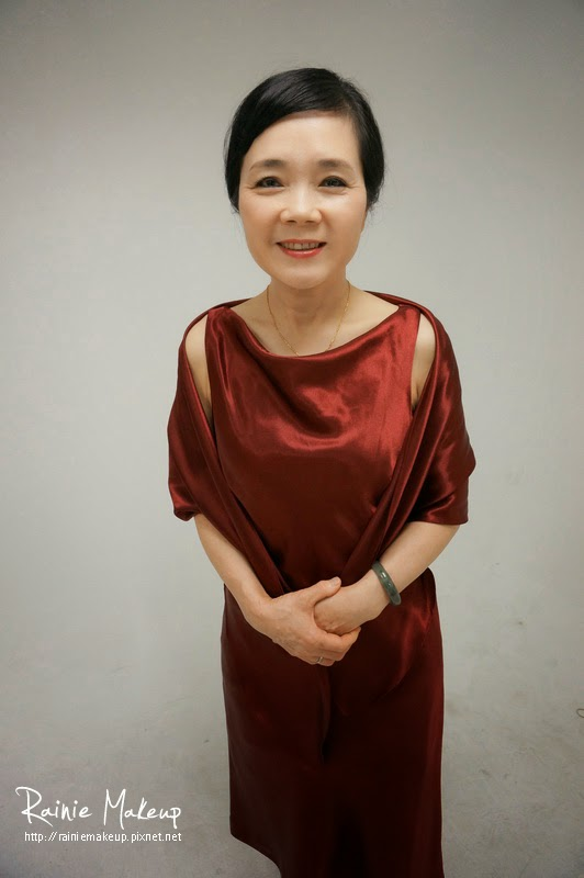 媽媽妝髮 Shuyun-玩妝造型 (典雅包頭) @ 新秘Rainie Kou。芮妮愛玩妝-新娘秘書.自助婚紗.新娘造型.造型玩妝.婚攝 ...
