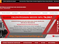 Informasi Penting CPNS Kemenkumham