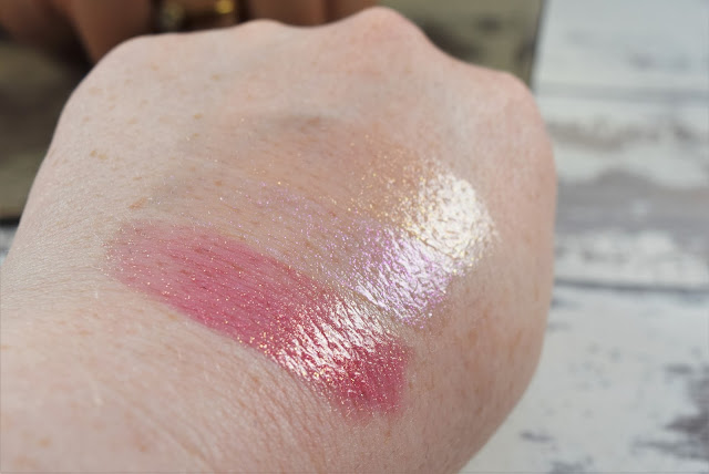 Elizabeth Arden Sunset Bronze Prismatic Lip Gloss Swatches