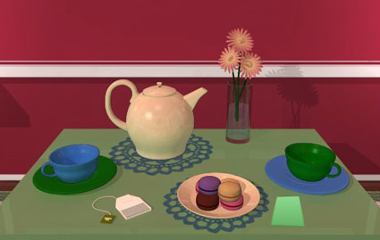 Amajeto Hotel: Tea Time