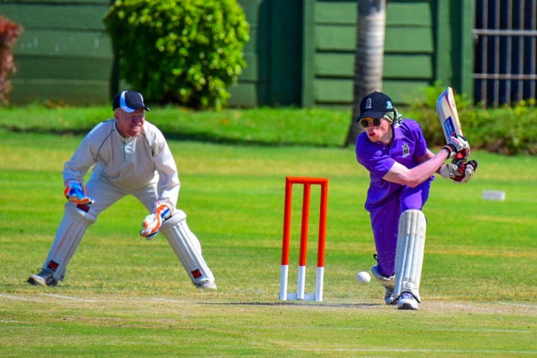 Blind Cricket batting