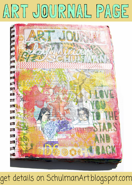 art journal pages http://schulmanart.blogspot.com/2015/07/what-do-you-put-on-first-page-of-your.html