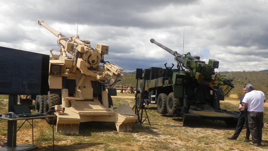 eb48e06fe7 A Artilharia do Exército Brasileiro precisa de um obuseiro que permita a  ampliação da profundida de fogo.