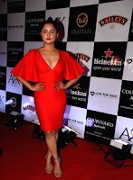 Indian  Girl Rashami Desai Long Cross Legs Tight thighs show in orange top (1).jpg