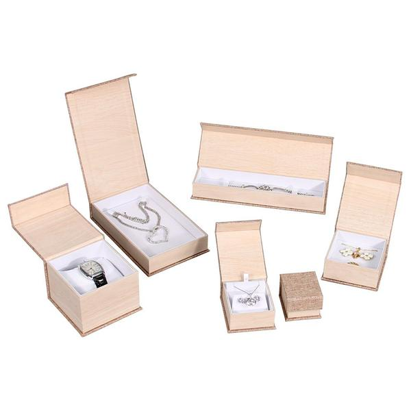 Buy Wholesale Deluxe Burlap Jewelry Boxes at Nile Corp