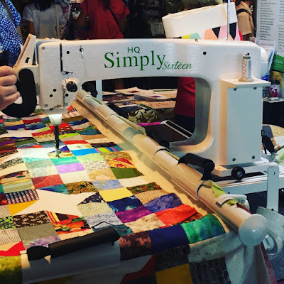 simply sixteen quilting machine