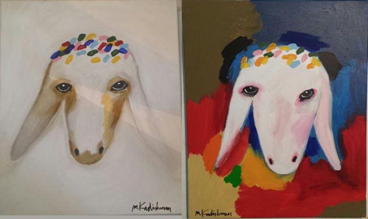 מעולה הבלוג של קובי לידרמן: על פרה לבנה ושחורה וגם על 2 כבשים ואחד קדישמן VL-84