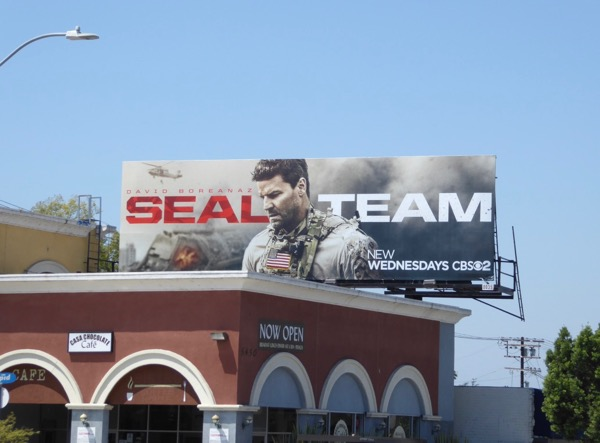 SEAL Team season 1 billboard