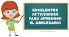 Actividades para aprender el abecedario