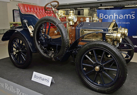 Rolls-Royce 10 hp Type A 1904 - display