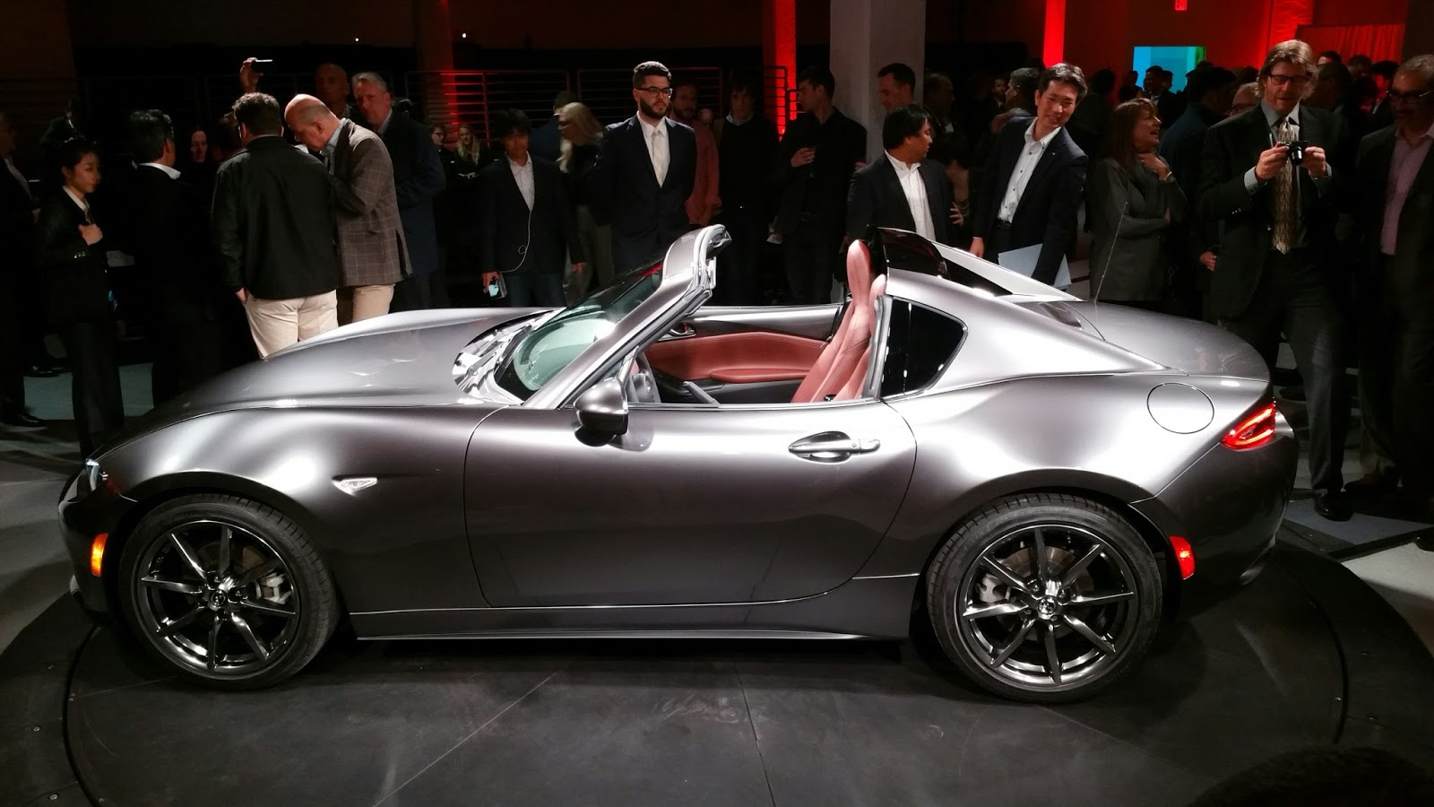 Left side view of mazda mx 5 miata rf hardtop picture from http adf ly 1ypr8u