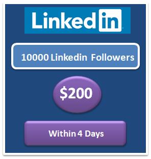 10000 Linkedin Followers free