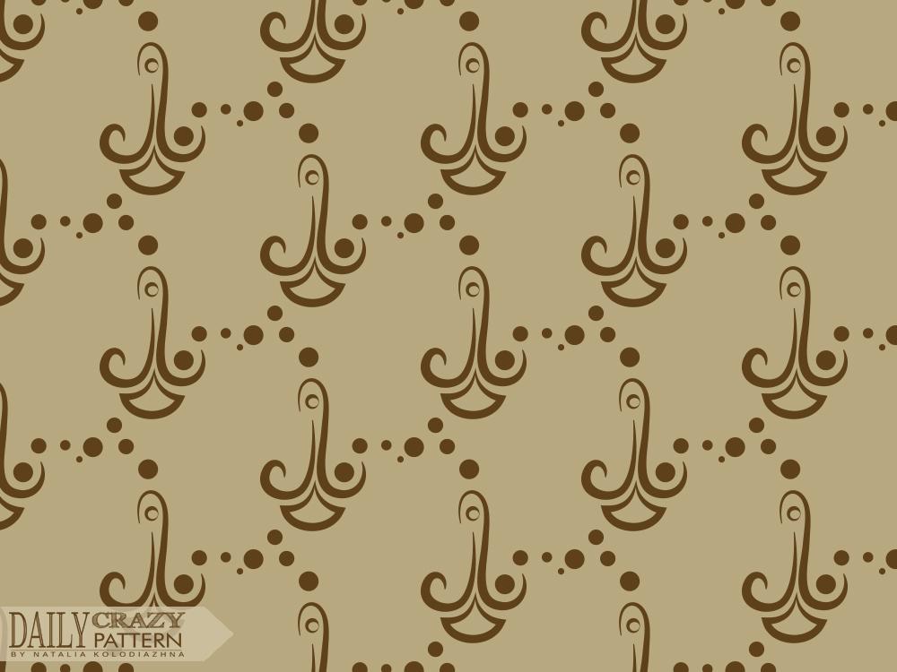 Chocolate curves pattern