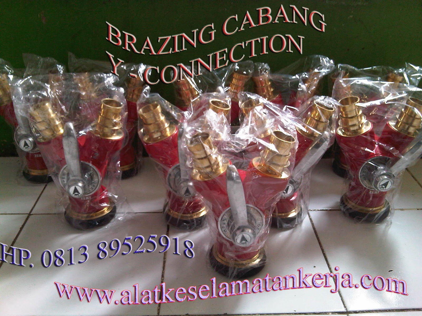 Brazing Cabang Y Connection Perlengkapa Hydrant Equipment