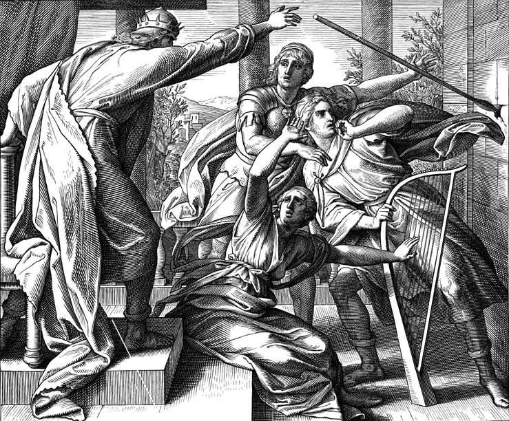 Saul-intenta-matar-a-David
