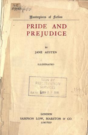 Pride and Prejudice Love Story Novel English PDF By Jane Austin