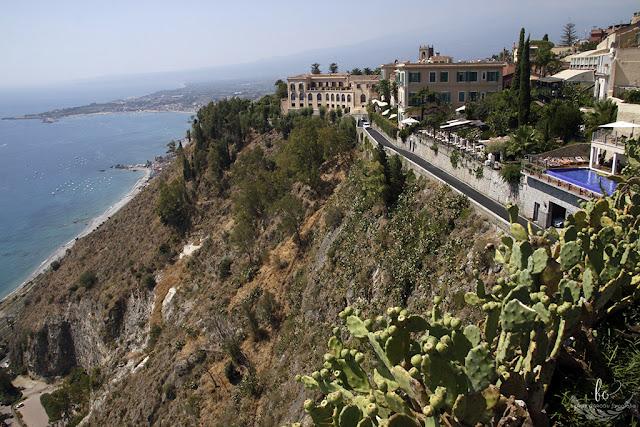 Taormina ogród
