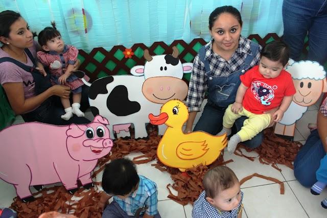 Festejan el Día del Niño en los Cendis del Isstey